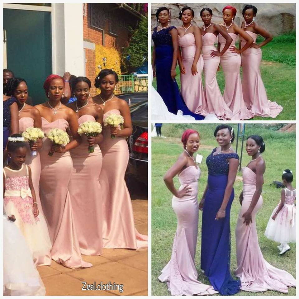 Custom-made Bridesmaid attire by Zeal Clothing
