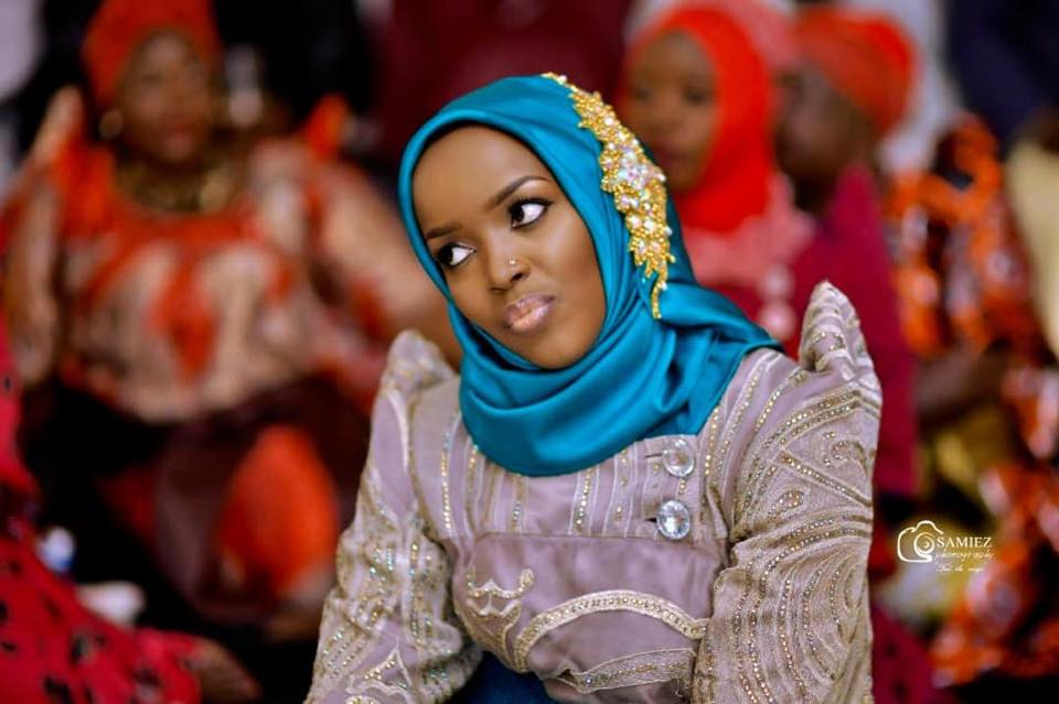 A beautiful moslem bride, makeup by Dazzle Me
