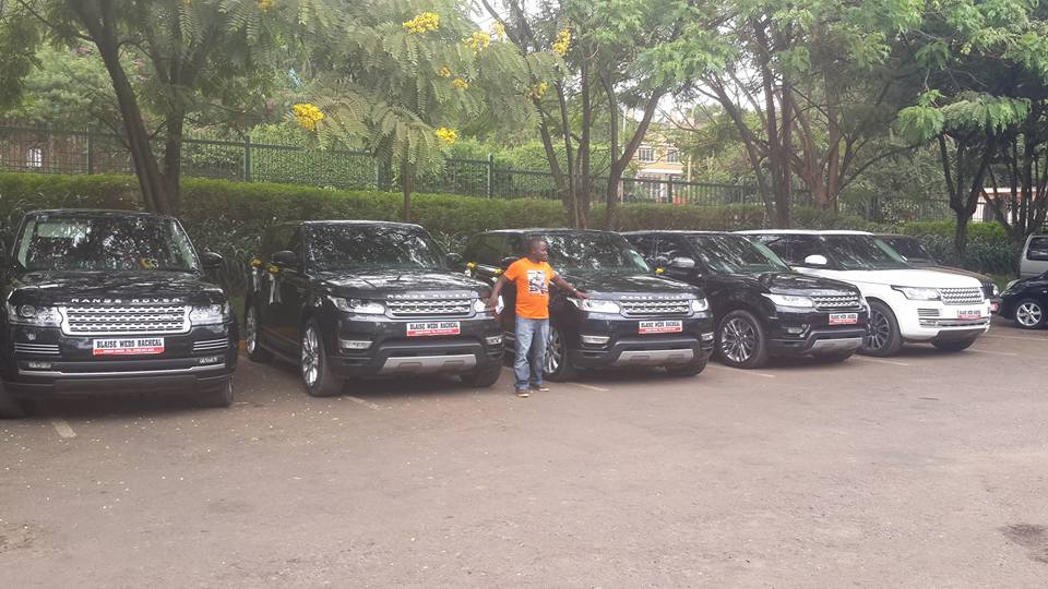 Ride in a Range Rover for your wedding with Prime Rides Events
