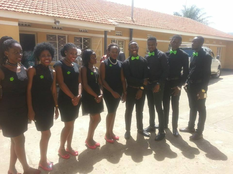 A team of female and male ushers from Sterling Ushers