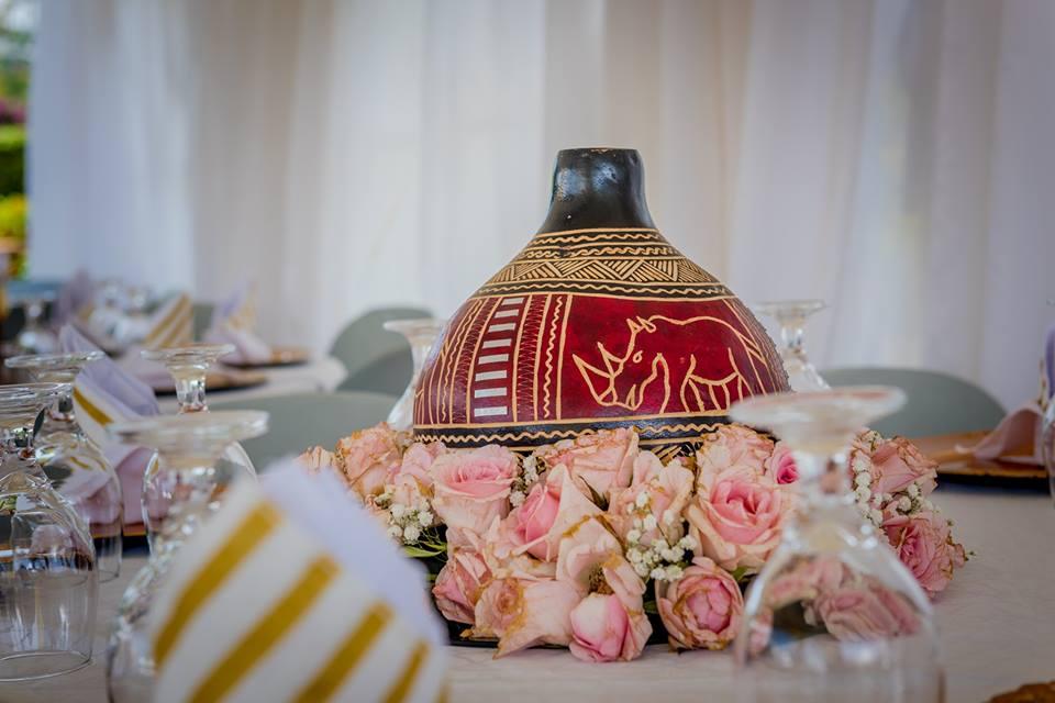 wonderful traditional wedding decor by Lega Events