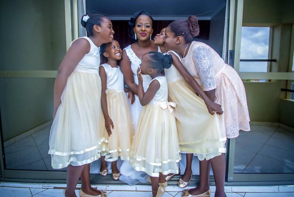 1394c1a98 Tailored classy flower girl dresses by Nisha's Bridal Photos ...