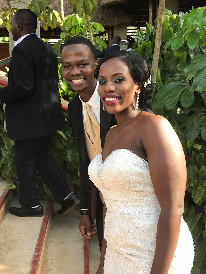 Vicent and Carol's wedding at Mawanda Gardens, Kireka
