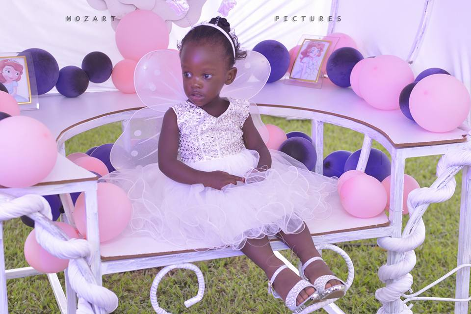 Petrina Lutaaya on her second birthday, photo by Mozart pictures