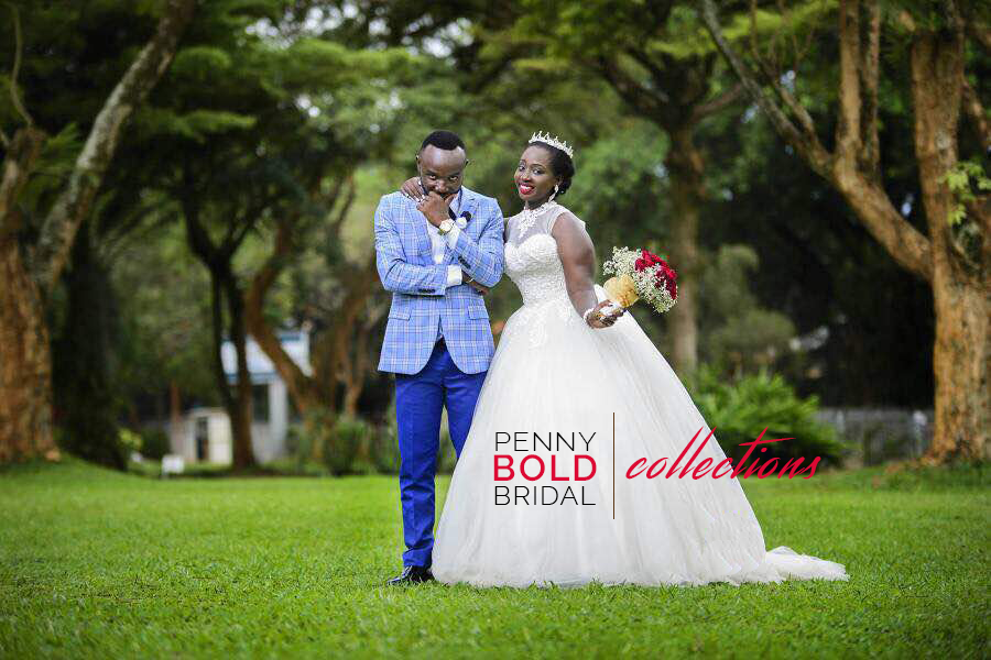 Look colourful on your wedding, Book a gown with Penny Bold Bridal Collections