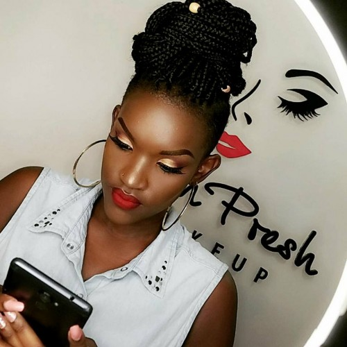 Fille's makeup by Fayth Presh