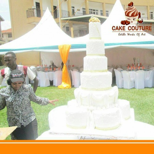 TEN TIER WEDDING CAKE  - Edible Works Of Art
