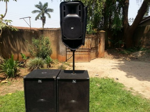 Speakers from Boss Sounds with Selector Cendrick