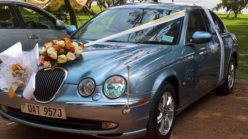 Jaguar World Service Uganda Wedding cars for hire