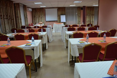 A conference room at Jevine Hotel