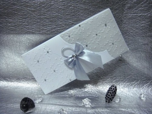 Wedding invitation card by Chic Designs