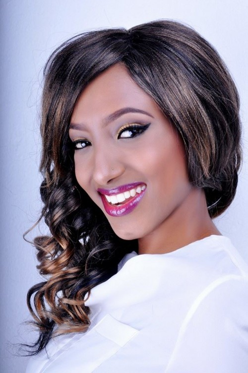 Lynn's exquisite makeup done by Thenameis.Usher Makeup Artistry