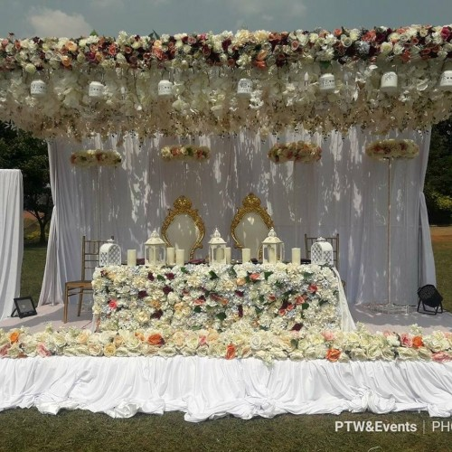 Wedding decor by Purple Truffle Weddings and Events