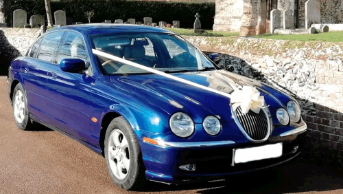 A jaguar is timeless - Bridal cars
