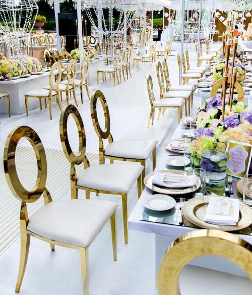 Martin and Maureen's wedding decor at Lake Victoria Serena Resort