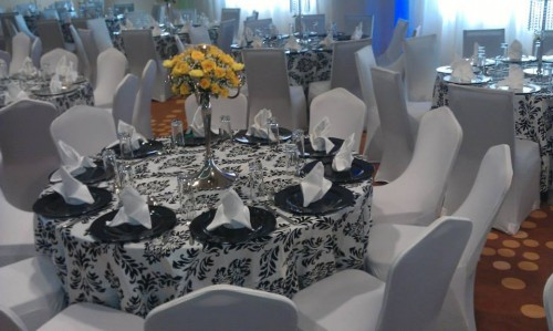 Black and White Decor at Royal Suites Bugolobi