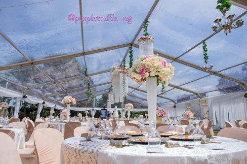 Leo and Damalie's Skyline Tent themed wedding by PTW & Events