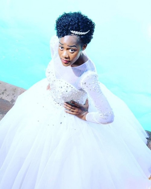 A beautiful bride dressed by TEM Fashion WEAR