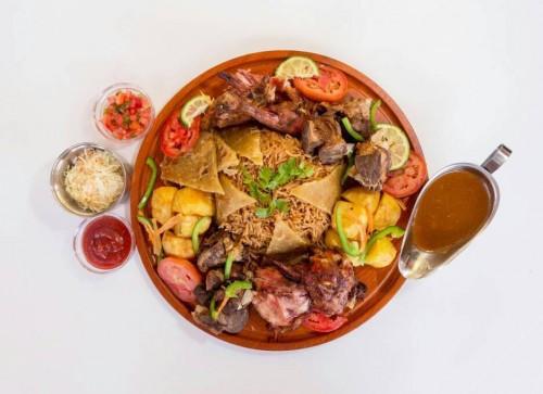 The famous Rahim Foods Lusaniya
