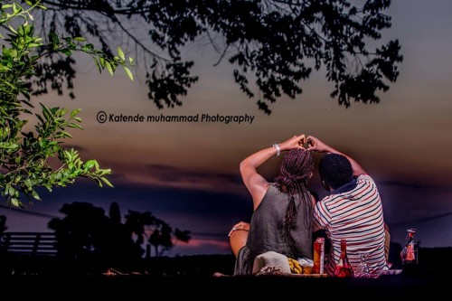 Isaac and Nana at their pre-wedding photo shoot with Katende Muhammad Photography