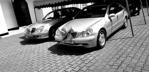 Classy Mercedes Benz bridal cars from Prime Rides Events