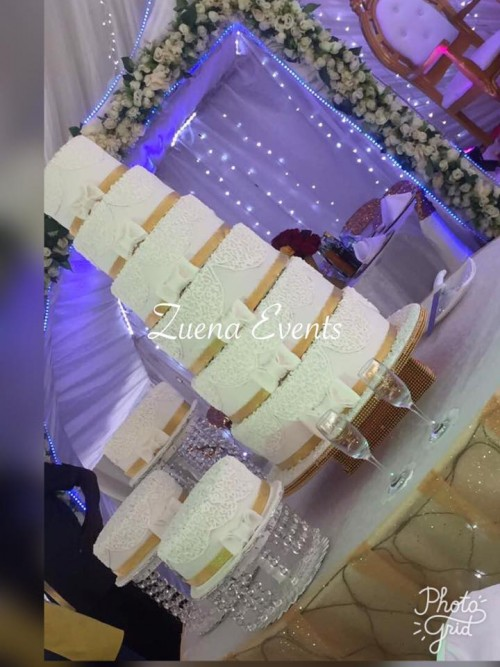 Wedding Cake By Zuena Cakes