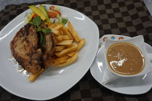 Fast foods at Kabira Country Club
