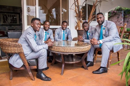 Canaan Gents before their performance as Eliana Hotel