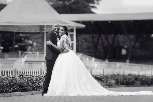 Desmond and Erica at Namugongo Catholic Shrine, powered by MultiWays Photography
