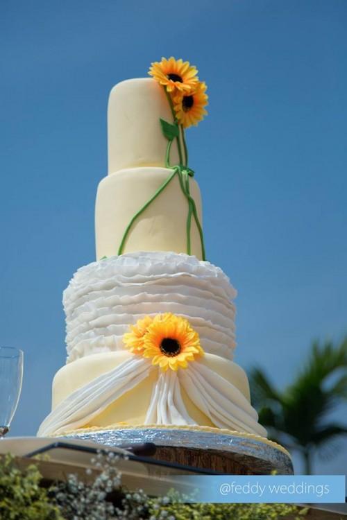 Wedding cake shots with Feddy Weddings