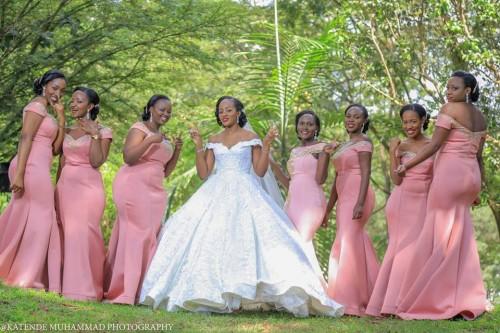 Shivy Nankunda and her bridesmaids, shots by Katende Muhammad Photography