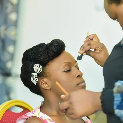 Bridal makeover by  Am her stylist