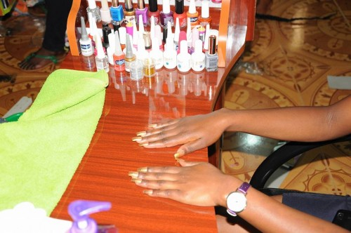Manicure Services at Uzuri Health and Beauty