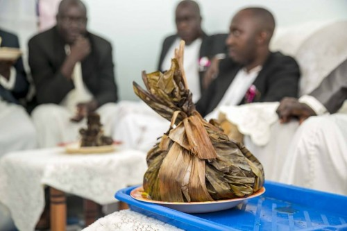 Oluwombo: Traditional Kwanjula Meal for the Muko