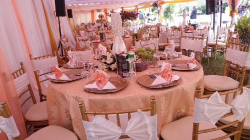Beautiful center pieces By Bloven Events