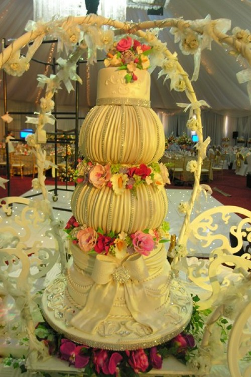 A special cake designed by Sarahs Cakes