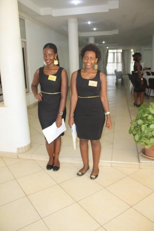 Beautiful girls in black dresses, Usher's Palace