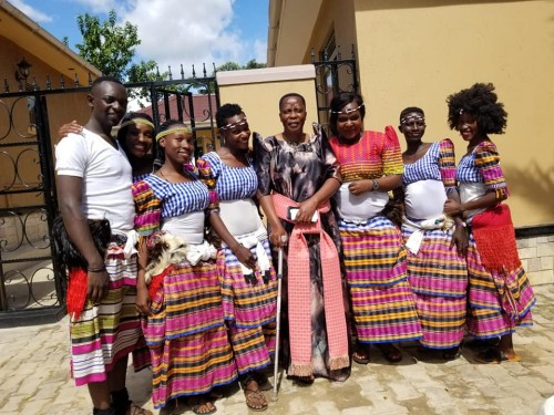 The Dance N' Beats Cultural Troupe with MP Betty Nambooze in Mukono