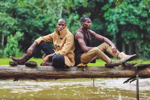 Ugandan male models Waiswa Ronald & Danny Mbabazi Atwooki, Mohsen Taha Photography