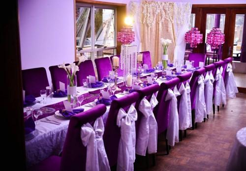 Theme: Silver, Purple Affair
