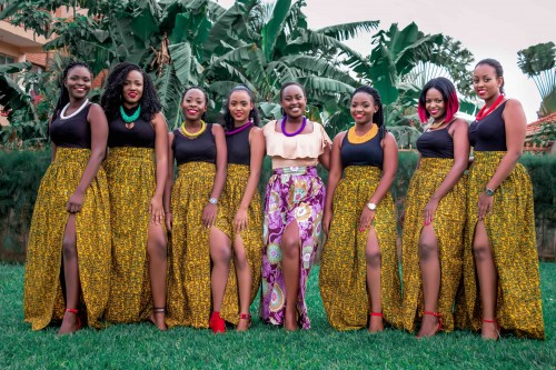 Brenda and her team of Plan It With Keine Ushers