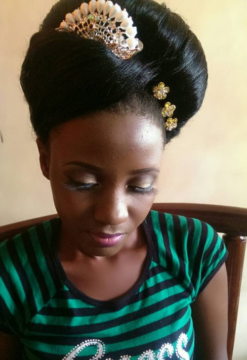 Bridal makeup with Prudiey Arttistry