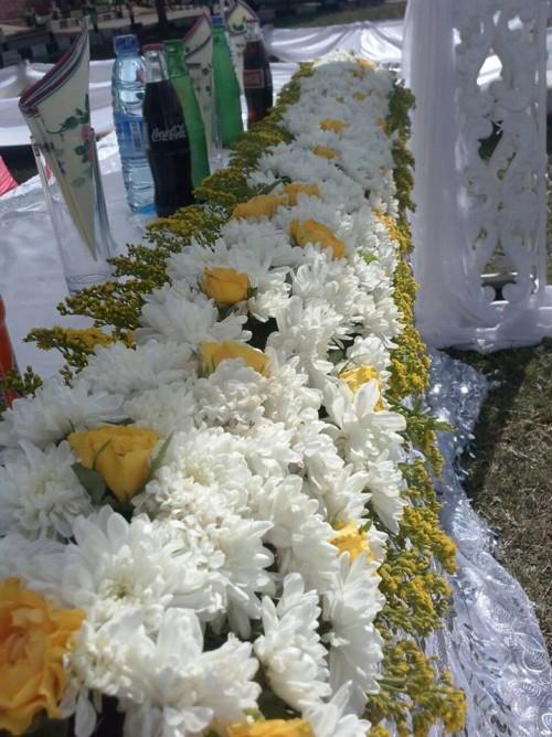 Flower decorations by Shibz Events Ltd