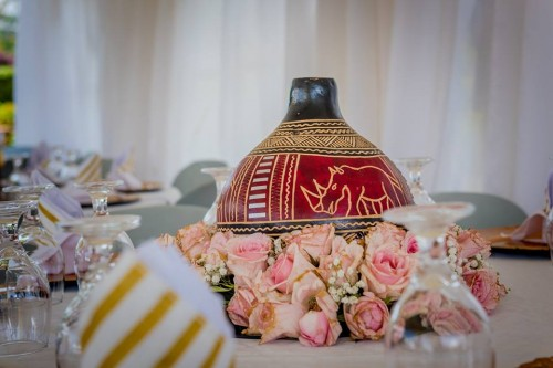 wonderful traditional wedding decor by Lega Events