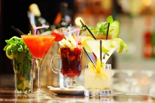 Fresh Mocktails and Cocktails at Kabira Country Club