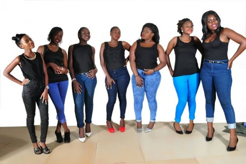 Member of the Derfynation Ushering Team in jeans and black tops