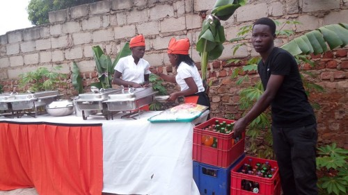 Semau Drinks supplied beverages as Mercy introduced Frank in Nsambya