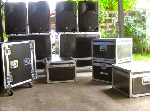 Sound systems from Blaze Events