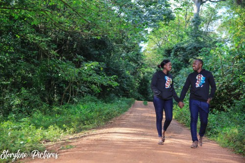 Derrick and Irene at their pre-wedding photo shoot powered by Storyline Pictures