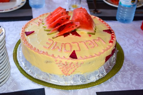 A cake baked by Adonai Guesthouse